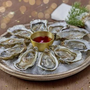2 douzaines d'huîtres n°3 Bio Chausey