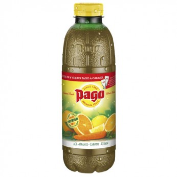 Jus de fruits ACE orange carotte citron Pago