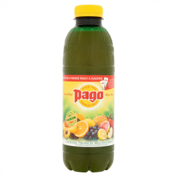 Jus de fruits multivitaminé Pago