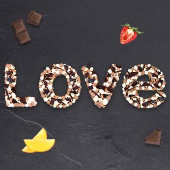 Love - Trois chocolats - 30 parts