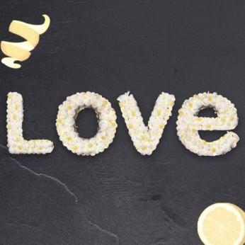 Love - Chocolat blanc / Citron - 30 parts