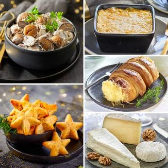 Menu végétarien de Noël 2020