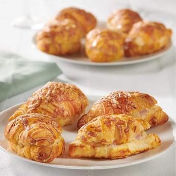 9 Minis croissants panachés