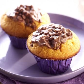 2 muffins au chocolat Milka