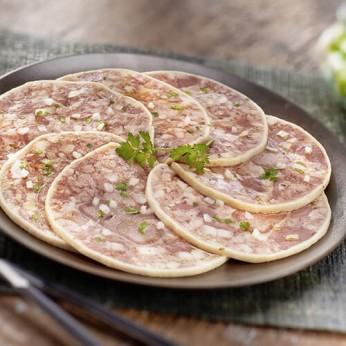Museau porc en tranches - 1,5kg