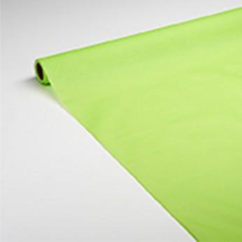 Nappe en papier vert anis 7x1,18m