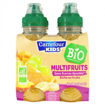 Nectar multifruits bio Carrefour Kids Bio