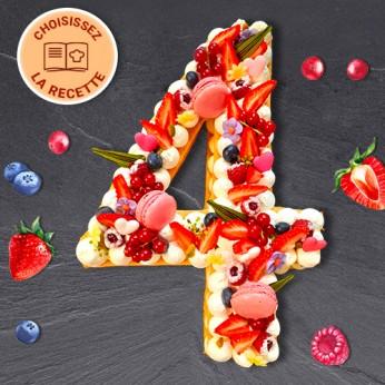 Number Cake - Numéro 4