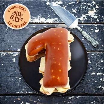 Pain surprise Chiffre garni - 20 Toasts