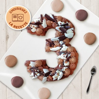 Number Cake - Numéro 3