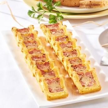 Plateau de 16 minis pâtés en croute jambon et volaille
