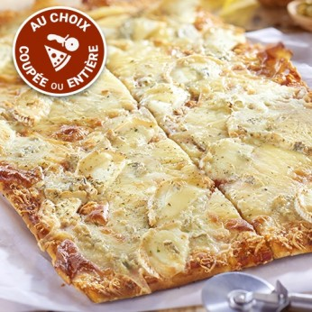 Pizza 4 fromages (NON COUPEE)
