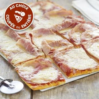 Pizza jambon mozzarella (NON COUPEE)