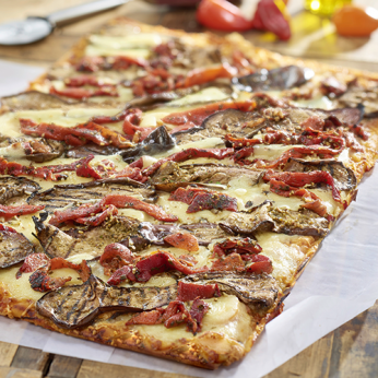 Pizza aux légumes du soleil - 8 parts