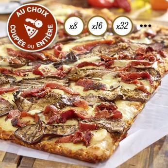 Pizza Légumes du soleil coupée en 32