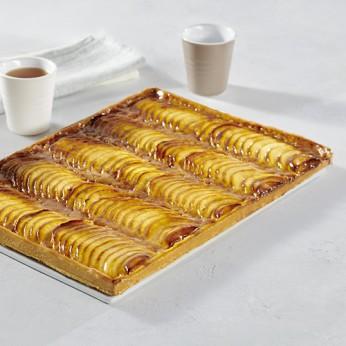 Tarte vergeoise aux pommes - 25 parts
