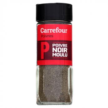 Poivre noir moulu Carrefour