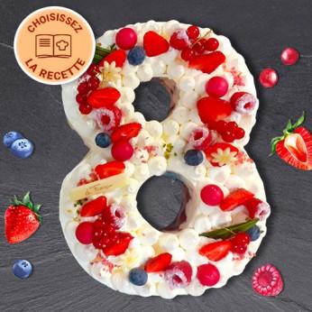 Number Cake - Numéro 8