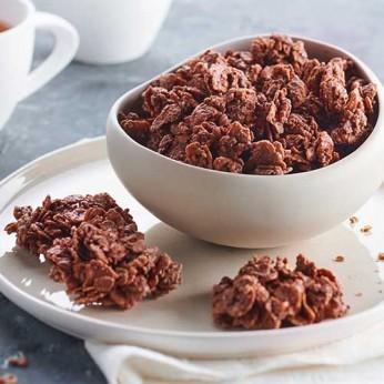 Roses des sables au chocolat au lait
