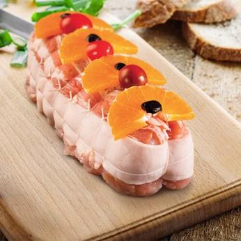 Rôti de dinde à l'orange
