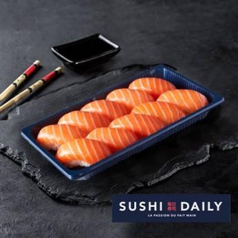 10 Sushis saumon