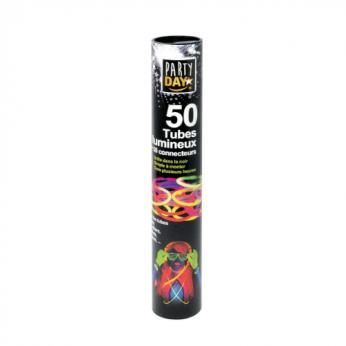 50 tubes lumineux