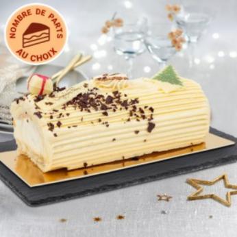 La Bûche crème au beurre vanille