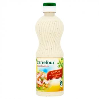 Sauce crudités caesar au fromage italien Carrefour