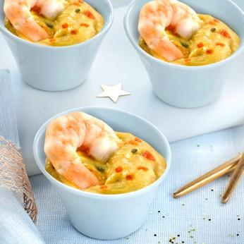 Sensation de Gambas au curry