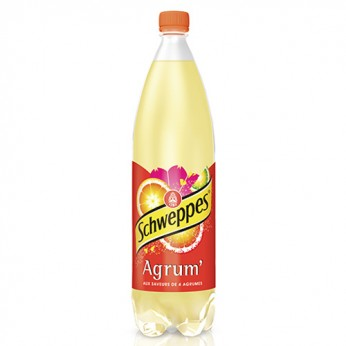 Soda aux saveurs de 4 agrumes Schweppes