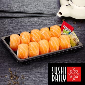 10 Nigiri Sushis au saumon