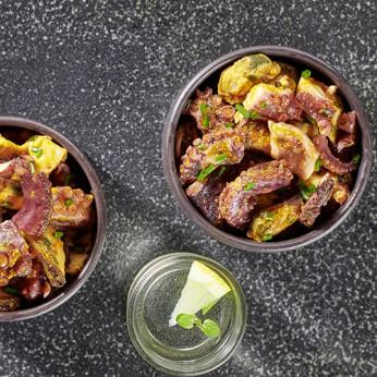 Tapas de poulpe aux olives Kalamata