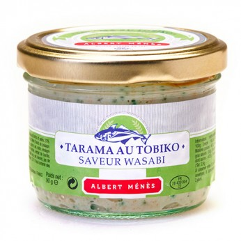 Tarama tobiko wasabi - 90g - Albert Ménès
