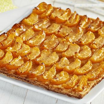 Tarte fine aux abricots - 6 parts
