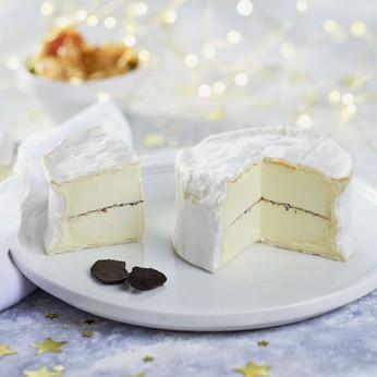 Triple crème affiné à la truffe