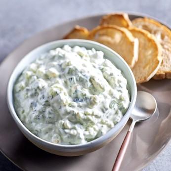 Tzatizki au yaourt grec