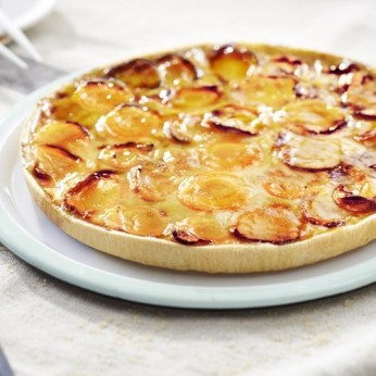 Tarte vergeoise aux prunes - 6 parts