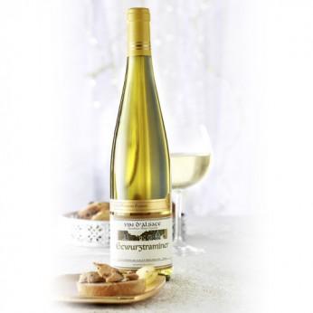 Vin blanc gewurztraminer d'Alsace 2013 La Cave d'Augustin Florent