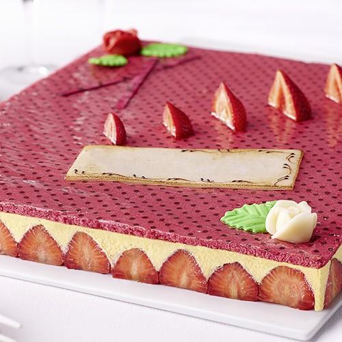 42f3de91393e4f Fraisier - 21 parts - Grands formats - Gâteaux   desserts - Traiteur ...