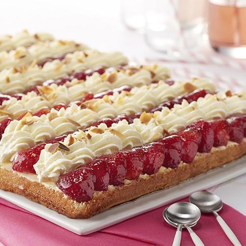 Génoise aux fraises - 15 parts - Gâteaux - Gâteaux