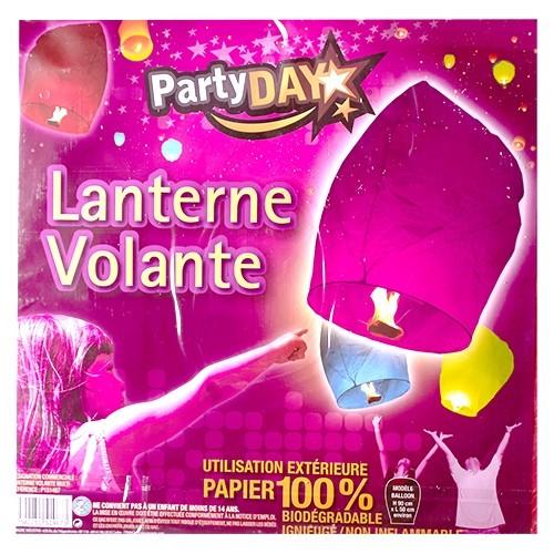 Lanterne Volante Violette Spécial Anniversaire Arts De