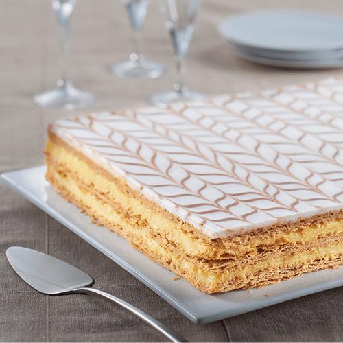 5567cc9e4c201b Millefeuille - 30 parts - Grands formats - Gâteaux   desserts ...
