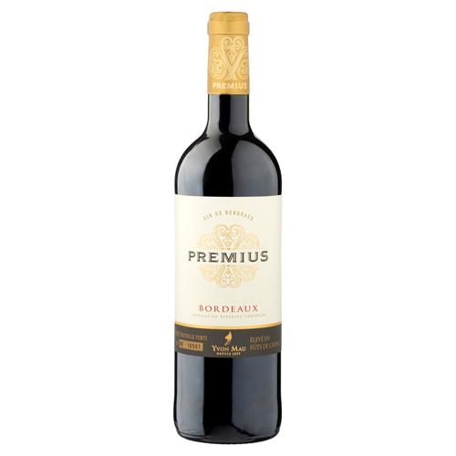 vin rouge bordeaux 2012 yvon mau premius vins boissons. Black Bedroom Furniture Sets. Home Design Ideas