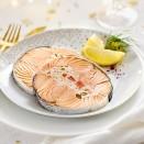 2 Darnes de saumon Label Rouge farci aux petits légumes