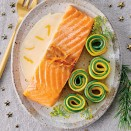 Saumon sauce beurre blanc