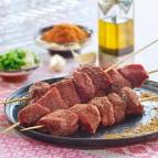 1 brochette de bœuf marinée à la mexicaine