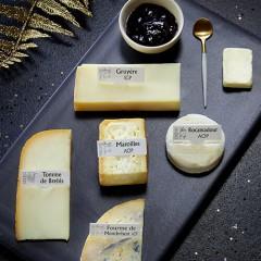 Assiette fromagère festive