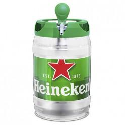 Mini fut de bière Heinken - 5l