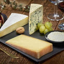 Plateau ardoise - 4 fromages