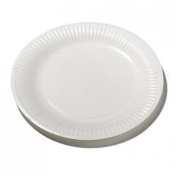 50 assiettes 18cm blanches